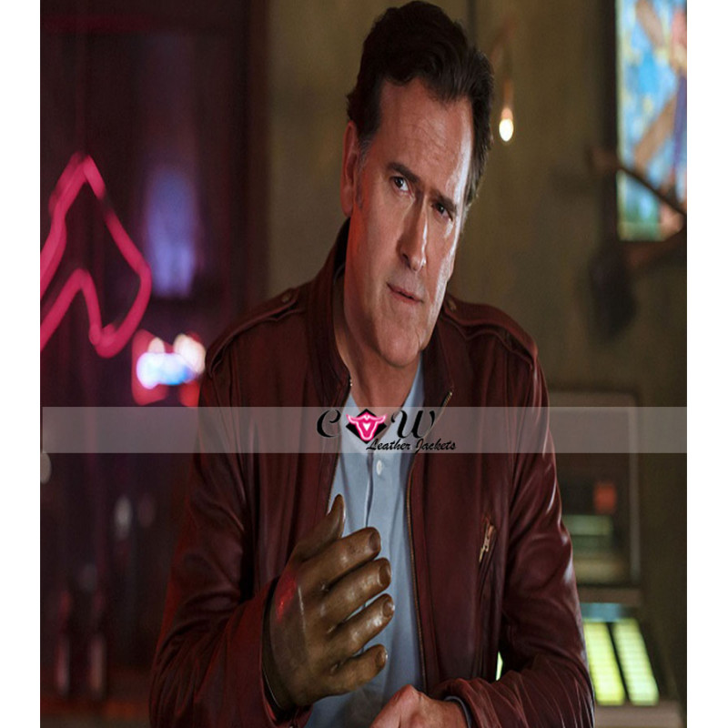 Ash Vs Evil Dead Bruce Campbell Stylish Leather Jacket