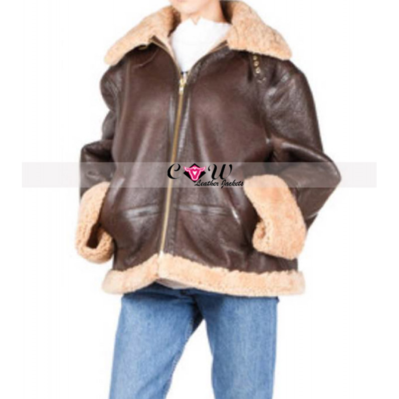 Valerian and the City of a Thousand Planets Rihanna Shearling Jacket
