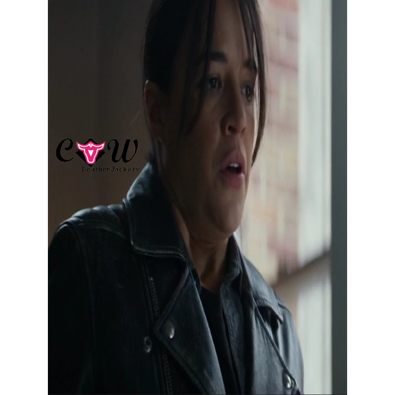 The Assignment Michelle Rodriguez Black Leather Jacket