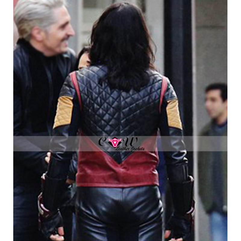 The Flash Carlos Valdes Quilted Leather Jacket