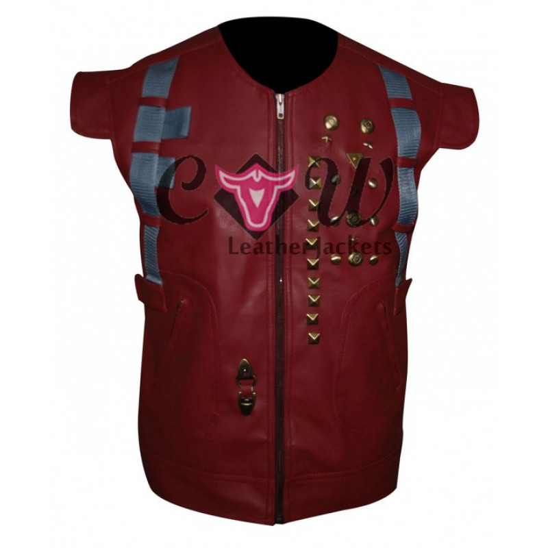 GUARDIANS OF THE GALAXY CHRIS PRATT RED VEST