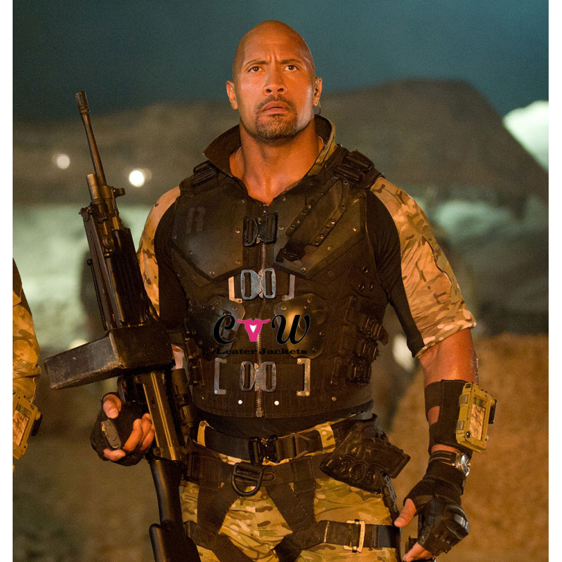 G.I Joe Retaliation Dwayne Johnson (Roadblock) Armor Vest