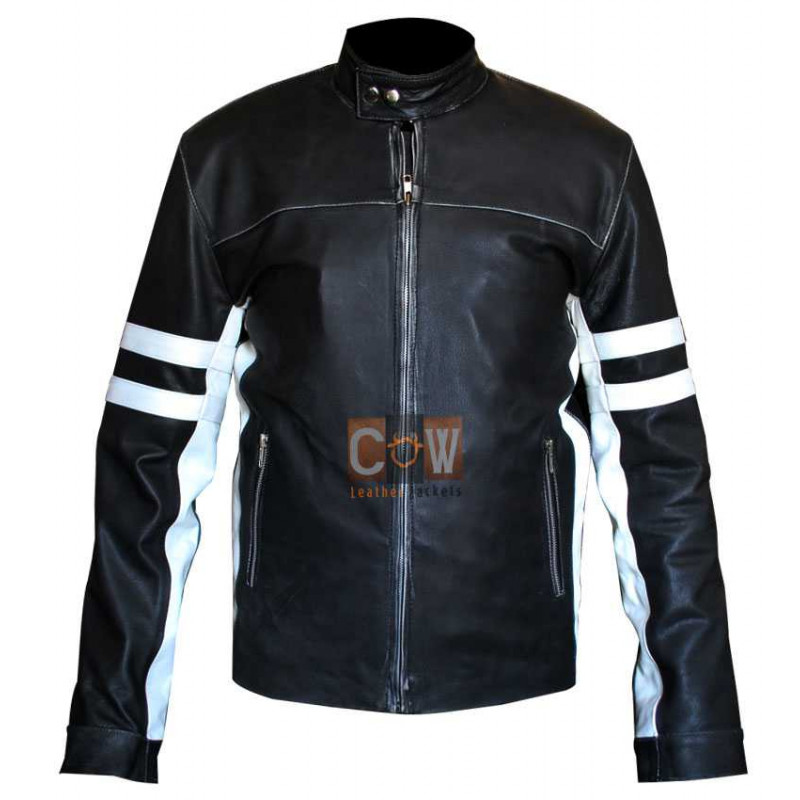 House of D: David Duchovny Jacket With White Stripes