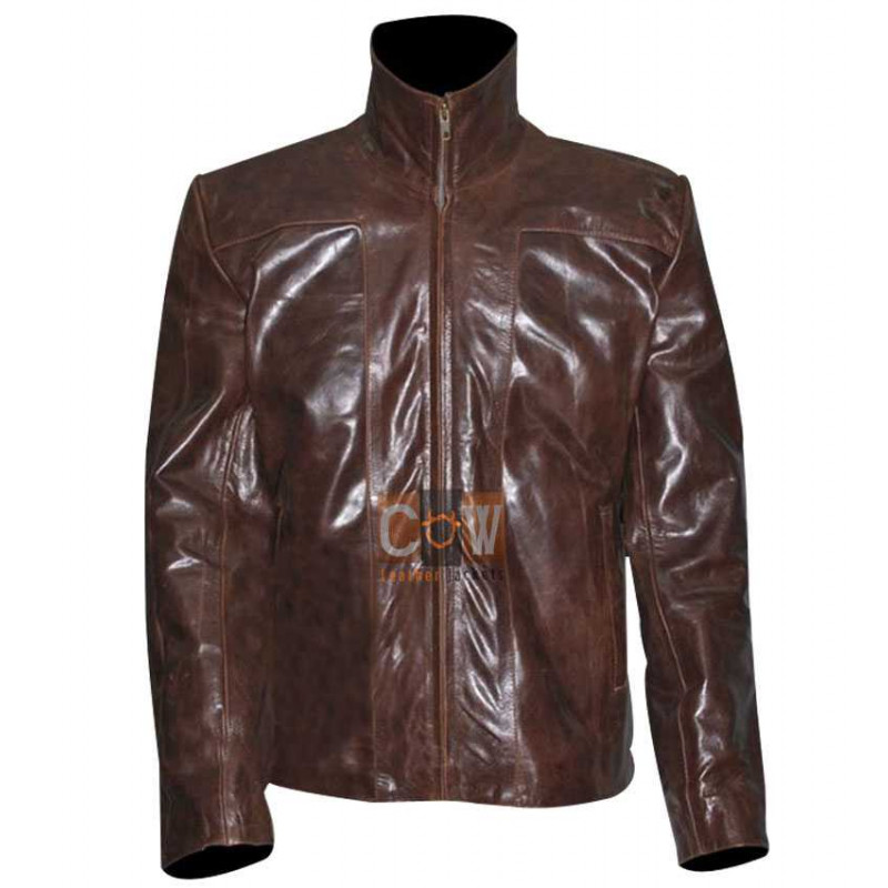 Bomber Style Real leather Jacket PLANET TERROR (FREDDY RODRIGUEZ)