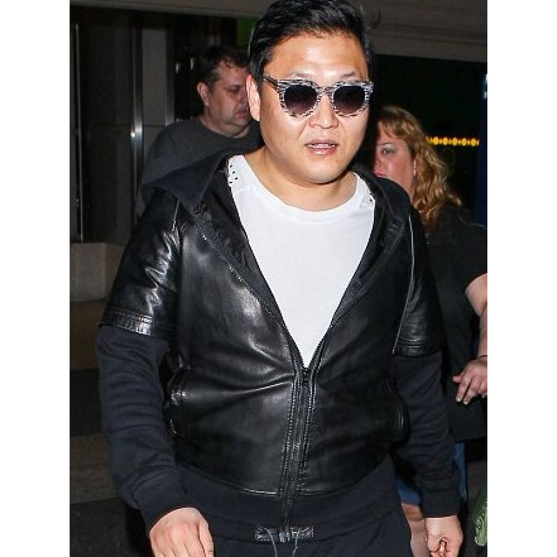 Psy Gangnam Style Star Leather Jacket
