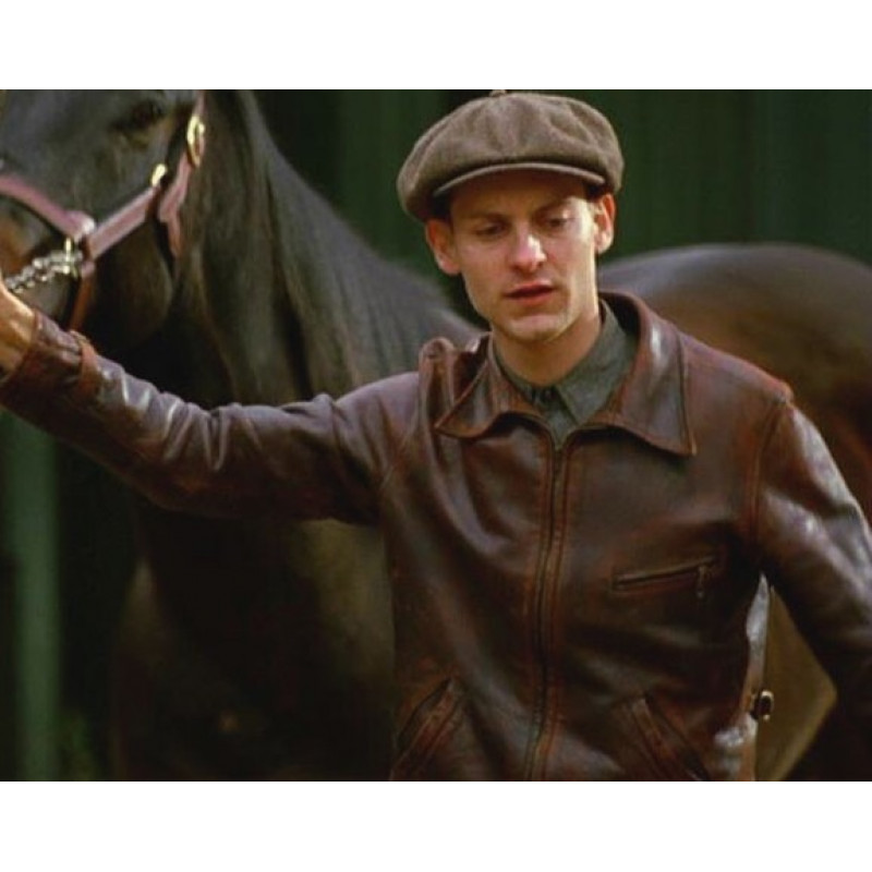 Seabiscuit Red Pollard Leather Jacket