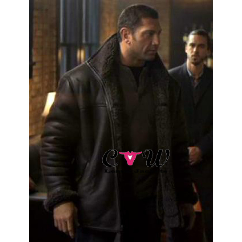 House of the Rising Sun Dave Bautista Ray Fur Jacket