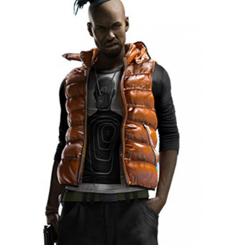 Anthony Wade Watch Dogs Gaming Leather Vest