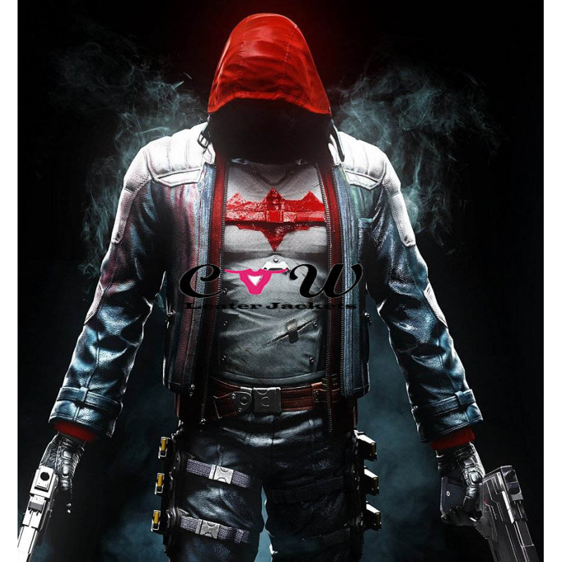 Batman Arkham Knight Red Hood (Jason Todd) Costume Jacket