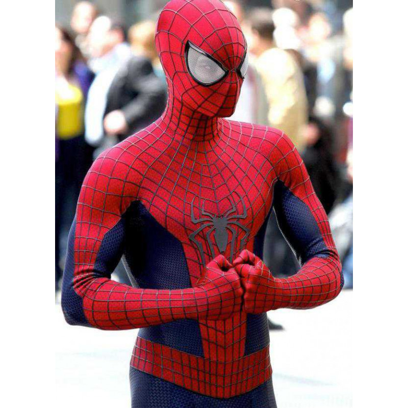 Peter Parker Cool Spiderman Replica Leather Jacket