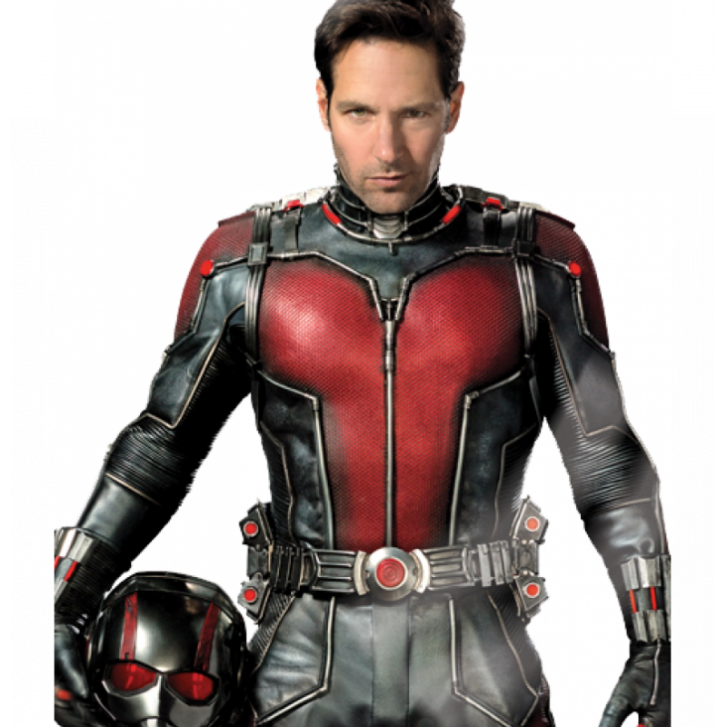 Ant Man Paul Rudd (Ant Man) Cosplay Costume Leather Jacket