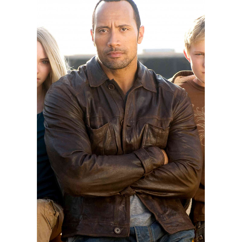 Race To Witch Mountain Dwayne Johnson Leather Jacket