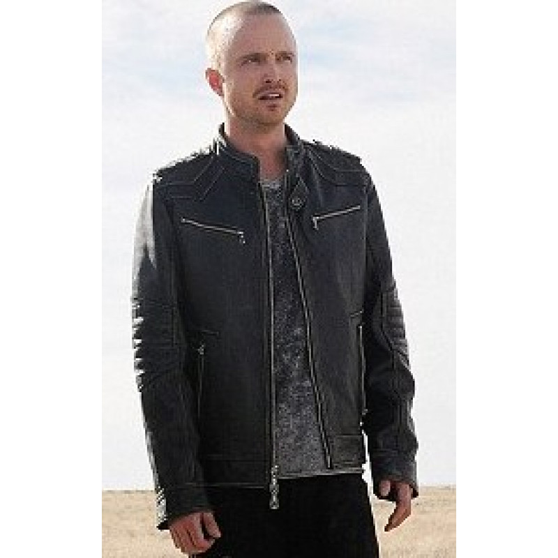 BREAKING BAD JESSE PINKMAN LEATHER JACKET