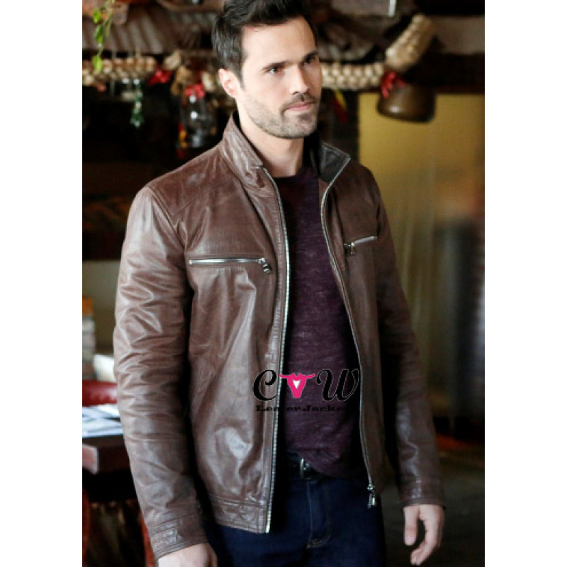 Grant Ward Agents of Shield Brown Jacket