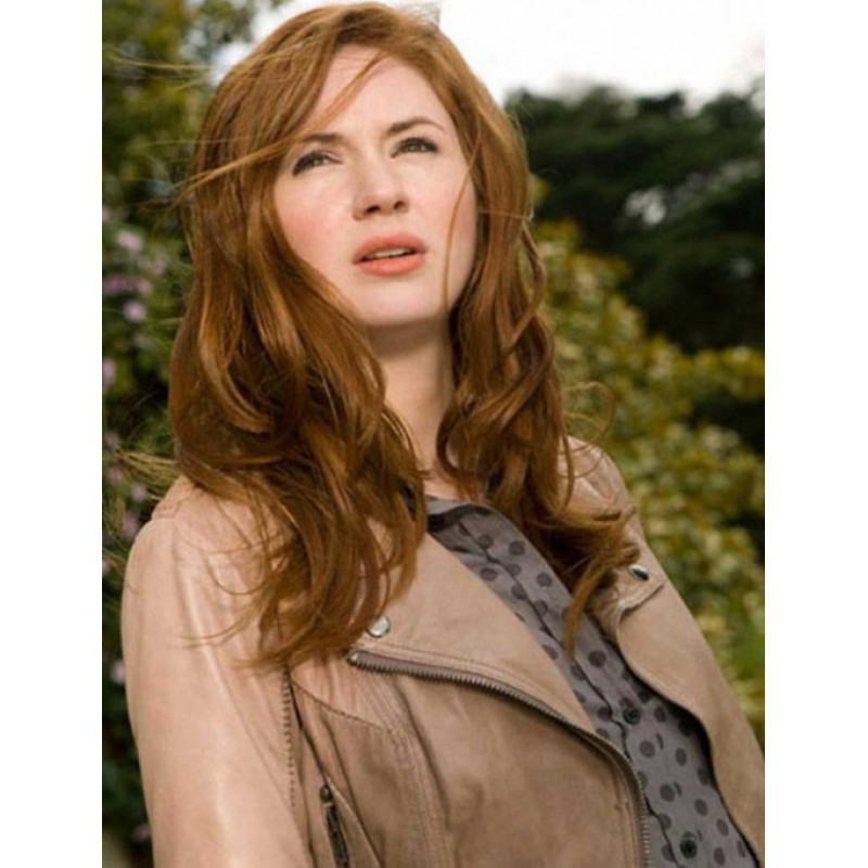Dr Who The Girl Who Waited Amy Pond Grey Jacket