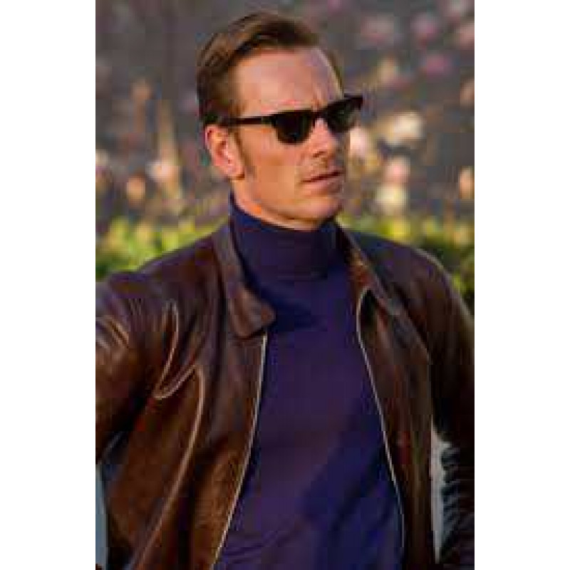 Buy X Men First Class Magneto Brown Leather Jacket